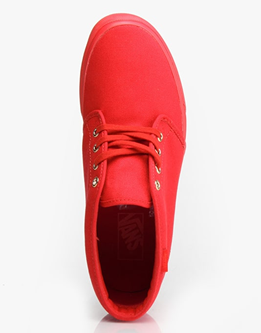 Vans Chukka Boot - (Gold Mono) Crimson
