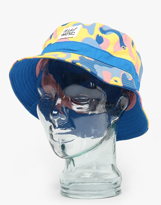 WeSC x Andy Warhol Reversible Bucket Hat - Camo 3