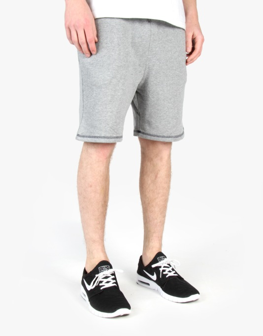 DC Break On Shorts - Heather Grey