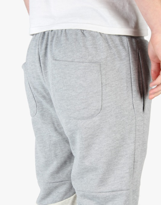 Pink Dolphin Wave Joggers - Grey