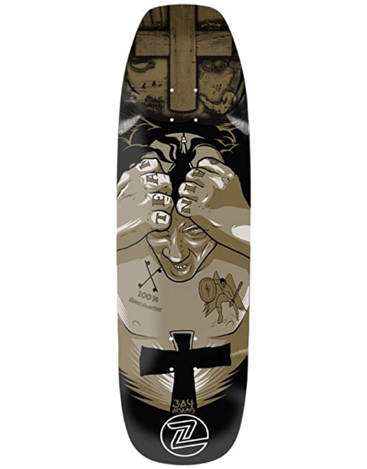 Z-Flex Adams Master Crafted V2 Pro Deck - 9.375""