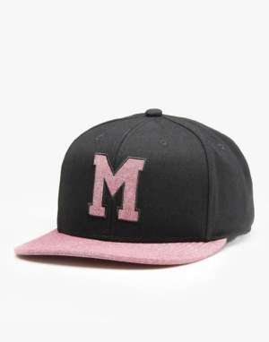 Mitchell & Ness NHL Montreal Maroons Command Snapback Cap - Black