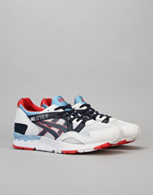 Asics Gel-Lyte V Shoes - Soft Grey/Navy