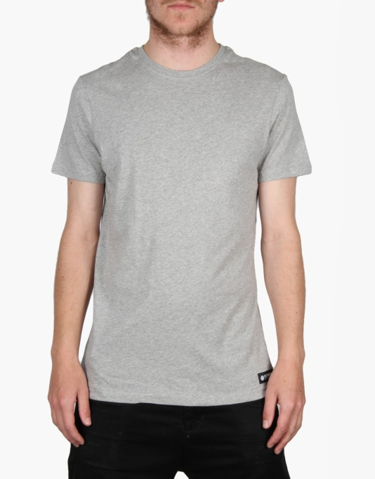 Element Basic Crew T-Shirt - Grey Heather