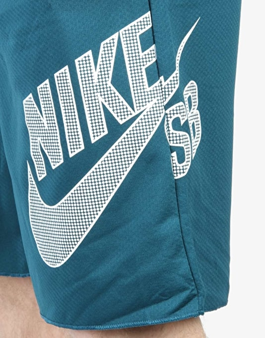 Nike SB Sunday Shorts - Teal/White