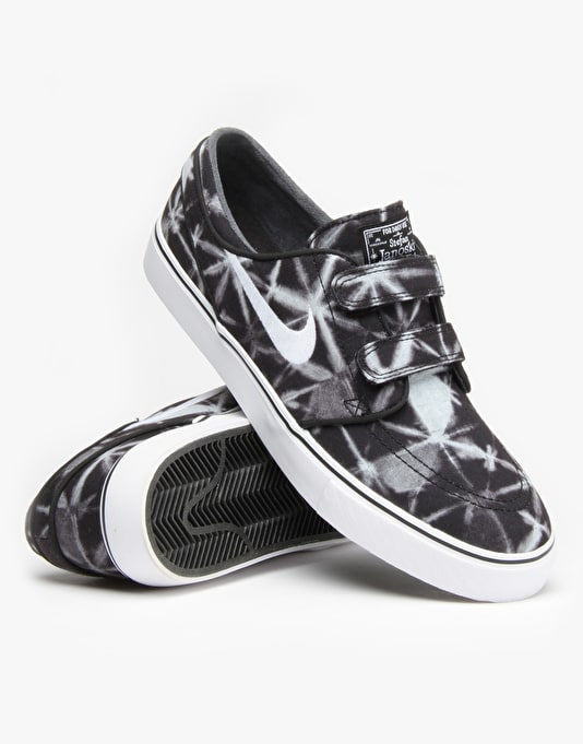 Nike SB Zoom Stefan Janoski AC Skate Shoes - Black/White