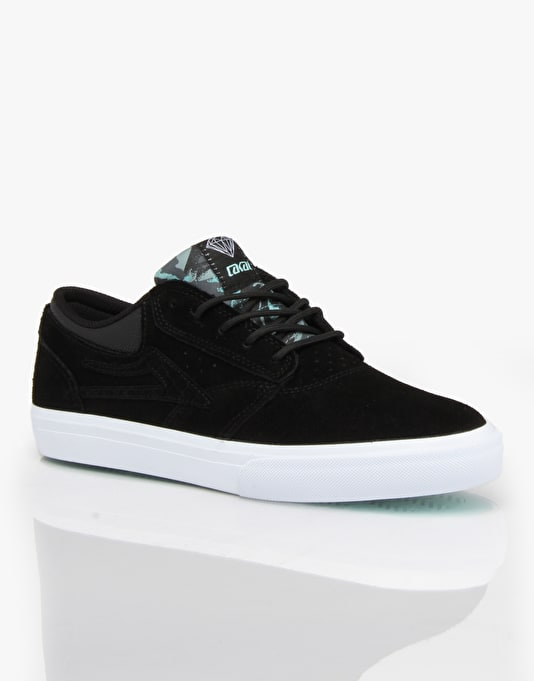 Lakai x Diamond Supply Co. Griffin Skate Shoes - Black Suede
