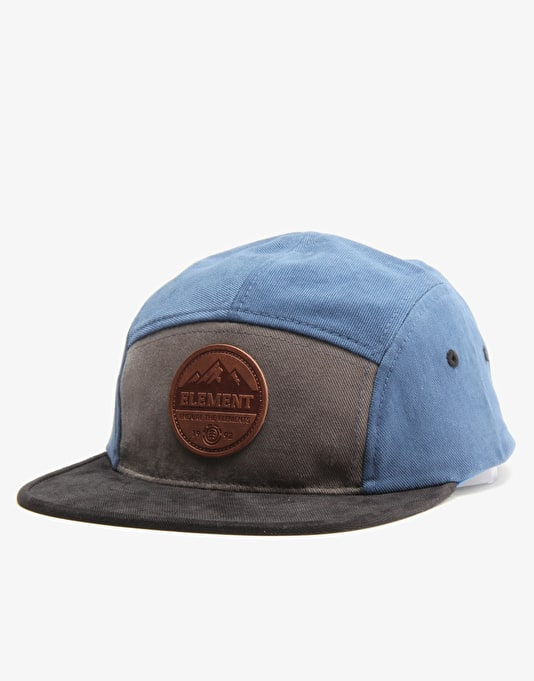 Element Stone 5 Panel Cap - Dark Denim