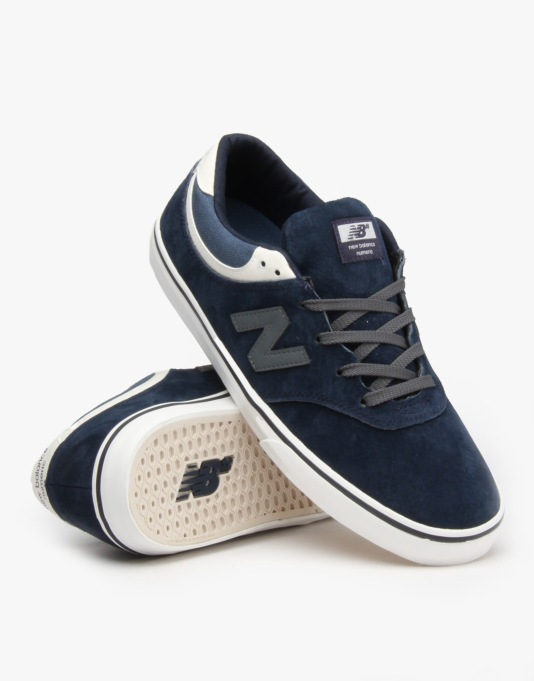 New Balance Numeric Quincy 254 Skate Shoes - Navy-Suede