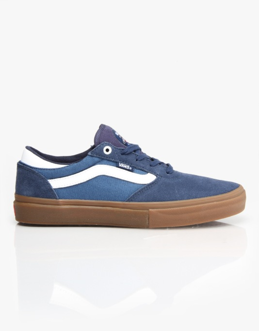 Vans Gilbert Crockett Pro Skate Shoes - Blue/White/Gum