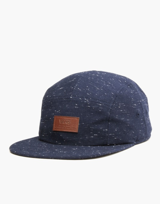Vans Davis 5 Panel Cap - Black Iris  459968bb8ac