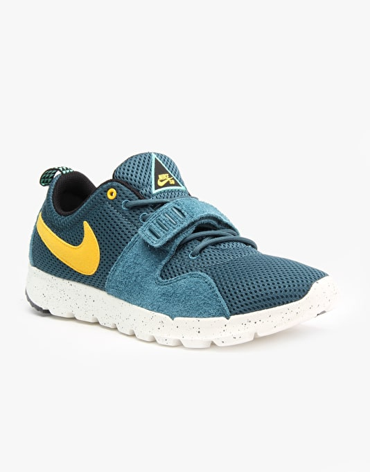 Nike SB Trainerendor Skate Shoes - Night Factor/Varsity Maize