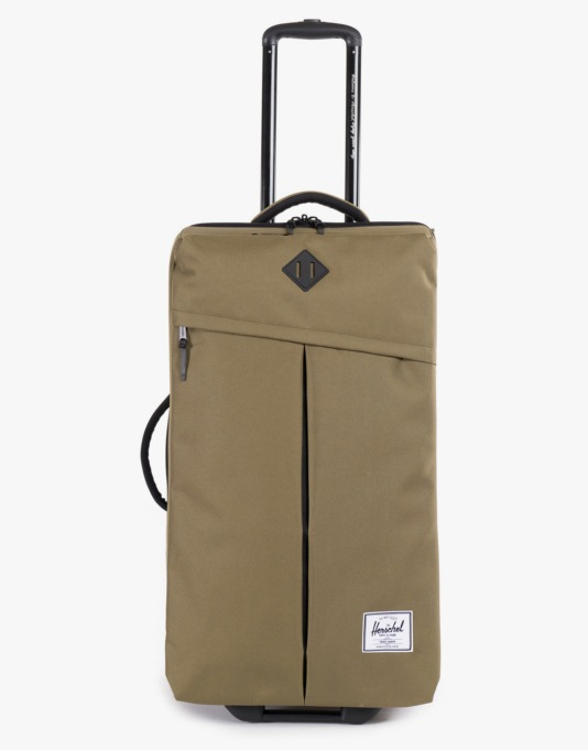 Herschel Supply Co. Parcel Luggage Bag - Army/Black Rubber