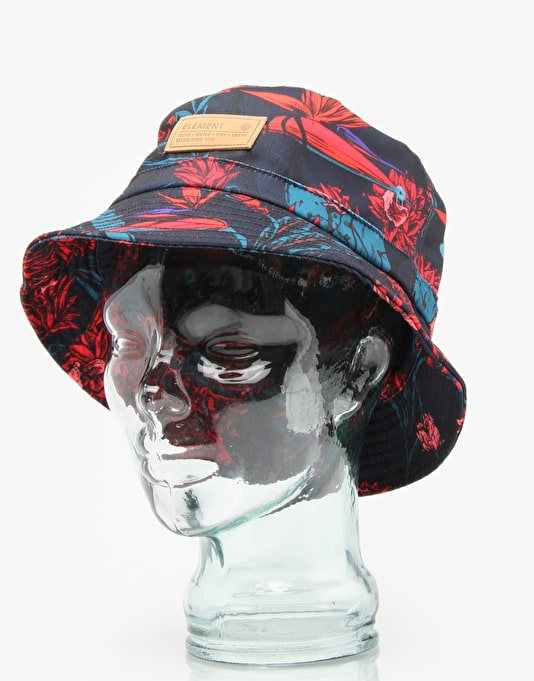 Element Lush Bucket Hat - Navy