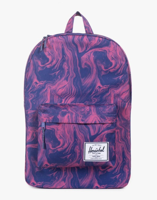 Herschel Supply Co. Classic Backpack - Red Marble
