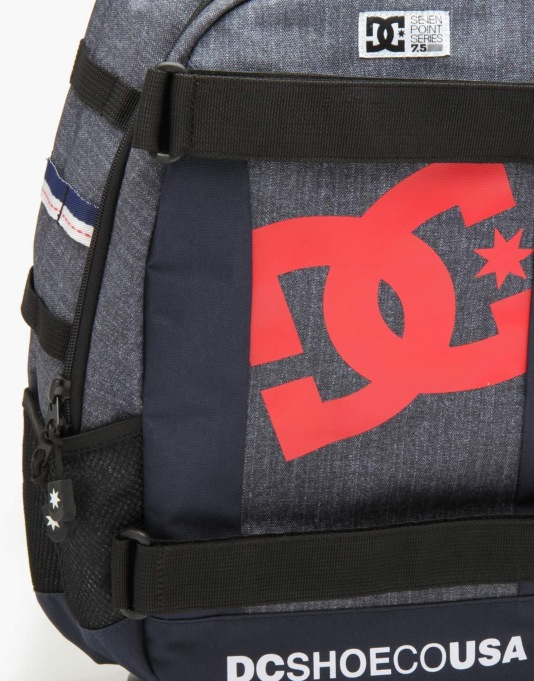DC Seven Point 5 Skatepack - Indigo Denim