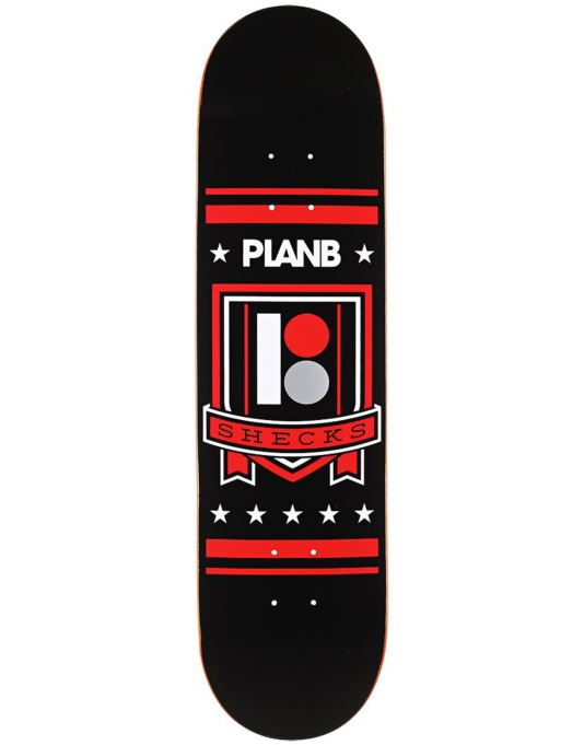 Plan B Sheckler Shield BLK ICE Pro Deck - 8""