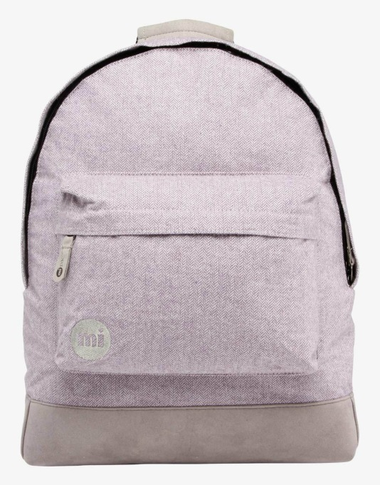 Mi-Pac Herringbone Backpack - Lilac