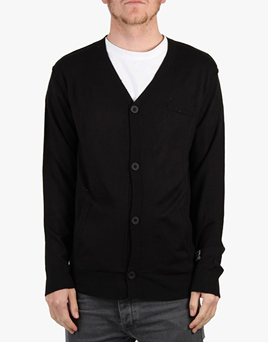 Fourstar Shuba Cardigan Knit - Black