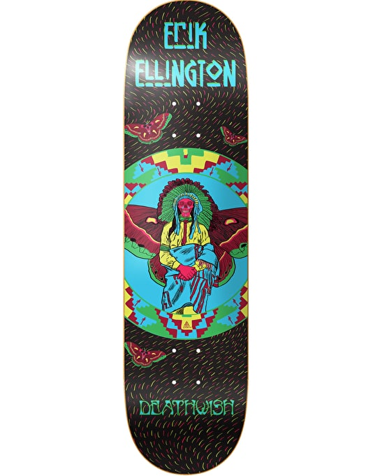 Deathwish Ellington Prophecies Pro Deck - 8.25""