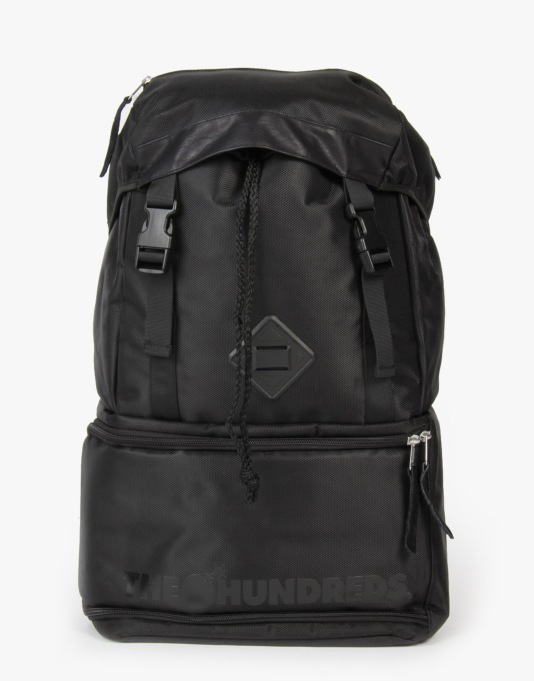 The Hundreds Steven Backpack - Black/Black