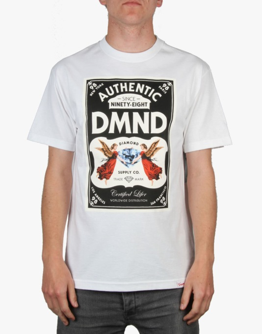 Diamond Supply Co. Authentic T-Shirt - White