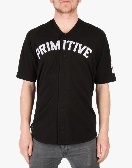 Primitive League Baseball Jersey - Black