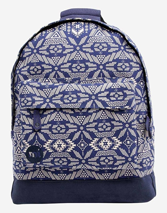 Mi-Pac Alpine Backpack - Blue/Cream