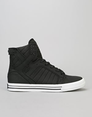 Supra Skytop Skate Shoes - Black TUF