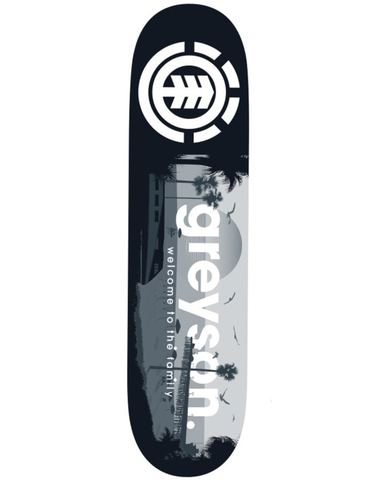 Element Greyson Welcome Featherlight Skateboard Deck - 8""
