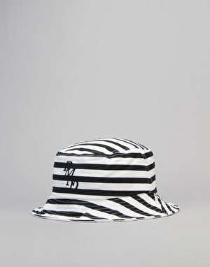 Diamond Supply Co. Serif Bucket Hat - White/Black