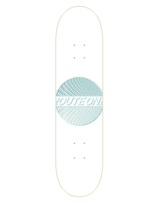 Route One Trippin' Skateboard Deck - 8.25""