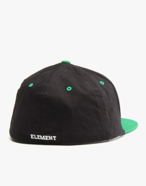 Element Label Flexfit Cap - Black