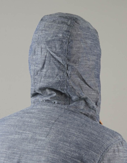 Element Alder Jacket - Blue Chambray