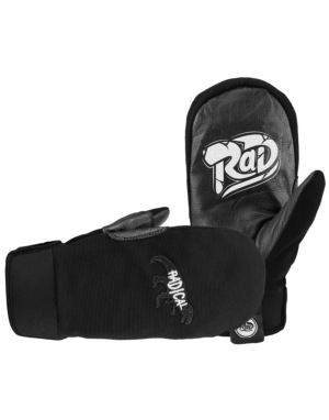 Radical Gloves The Crew 2016 Snowboard Mitts - Black