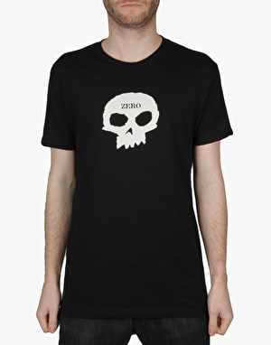 Zero Single Skull T-Shirt - Black