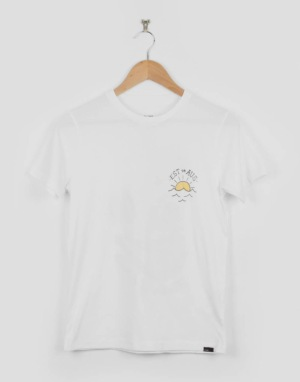 Globe Est. At Sea Boys T-Shirt - White Sink