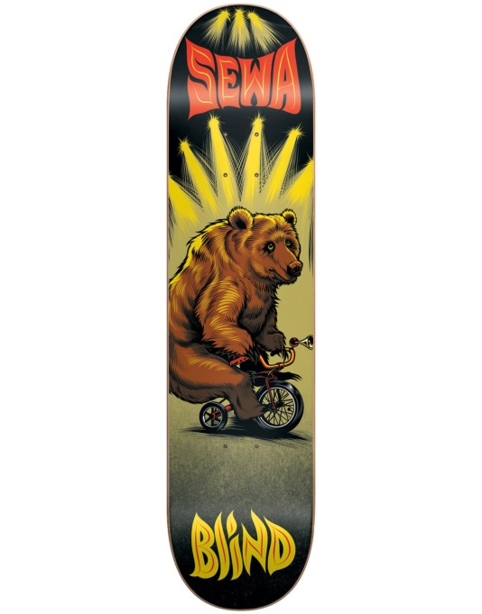 Blind Sewa Bear on a Bike Pro Deck - 7.75""