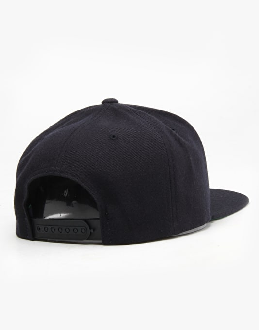 Welcome Talisman Snapback Cap - Navy/Black