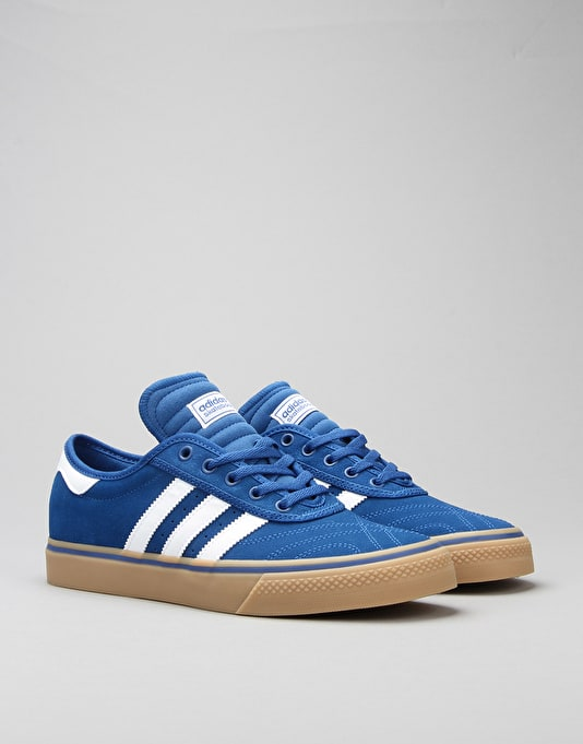 Adidas Adi-Ease Premiere Skate Shoes - EQT Blue/FTWR White/Gum