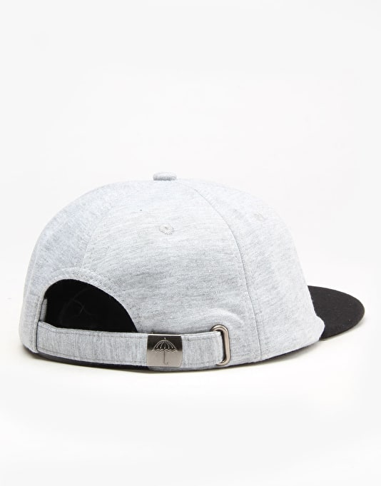 Hélas Baller 6 Panel Cap - Grey Jersey/Black