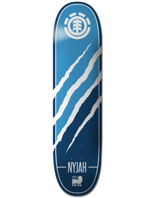 Element Nyjah Silhouette Featherlight Pro Deck - 7.75""