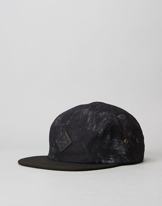 Globe Hartford 5 Panel Cap - Black Dust