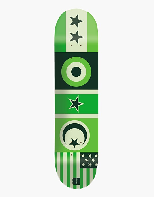 Chocolate Hsu Flags Pro Deck - 8""