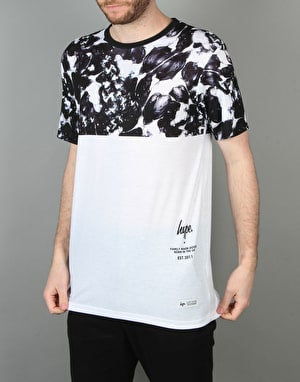 Hype Monotone Panel T-Shirt - Multi