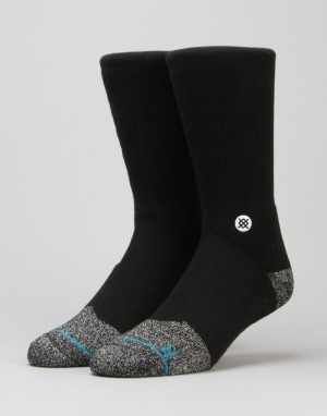 Stance Burial Deathless Thread Socks - Black