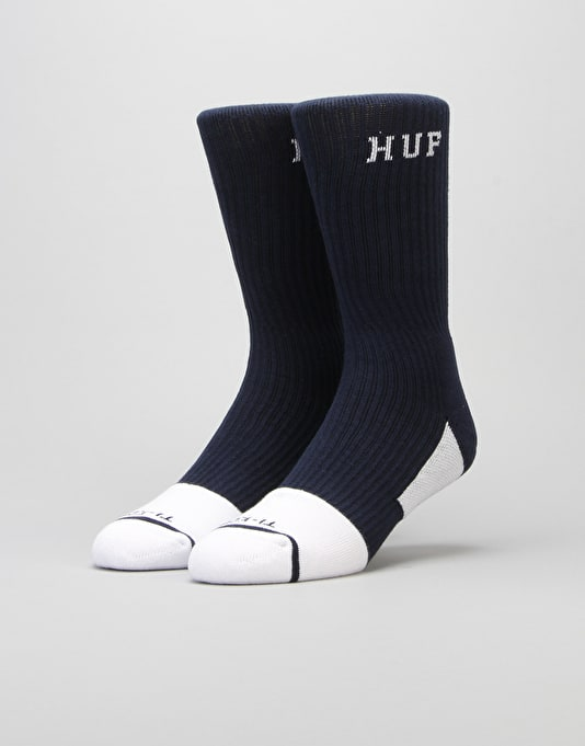 HUF Apex Performance Socks - Navy