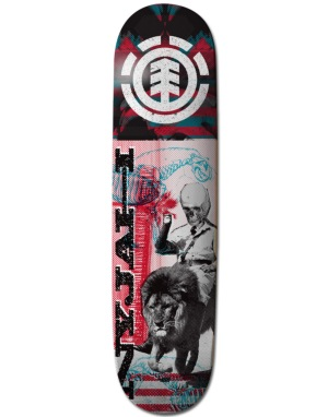 Element Nyjah Overprint Featherlight Pro Deck - 8