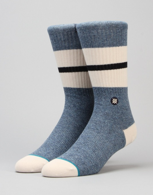 Stance Hiver Classic Crew Socks - Blue