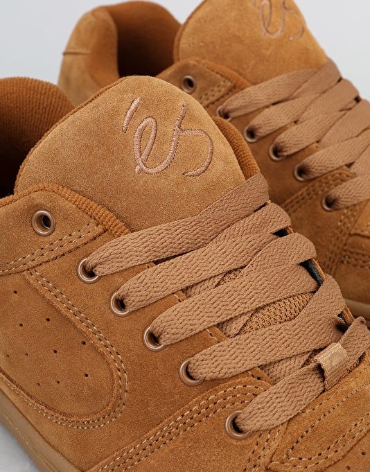 éS Accel OG Skate Shoes - Brown/Gum